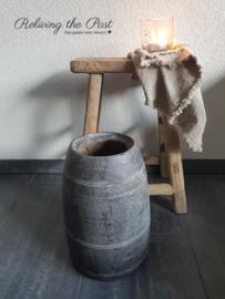 Nepalese kruikpot vergrijsd XL1