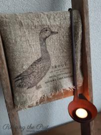 Linnen doek eend