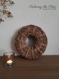Twijgenkrans bruin 30 cm