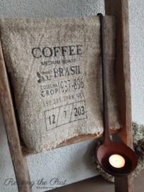 Linnen doek koffie Large