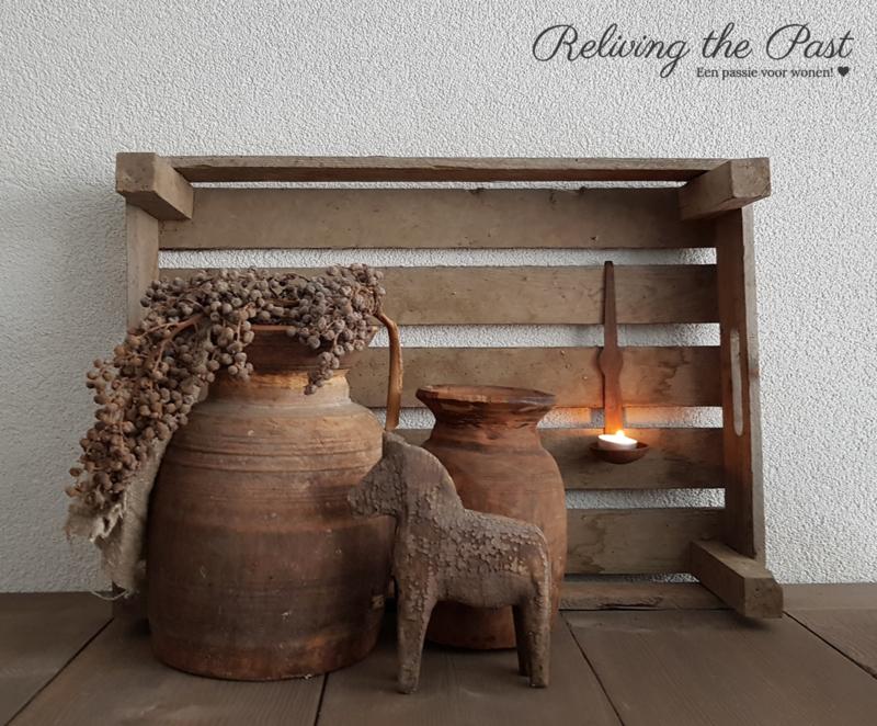 Originele oud houten aardappelkistjes