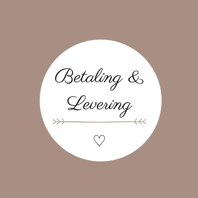 Betaling & Levering
