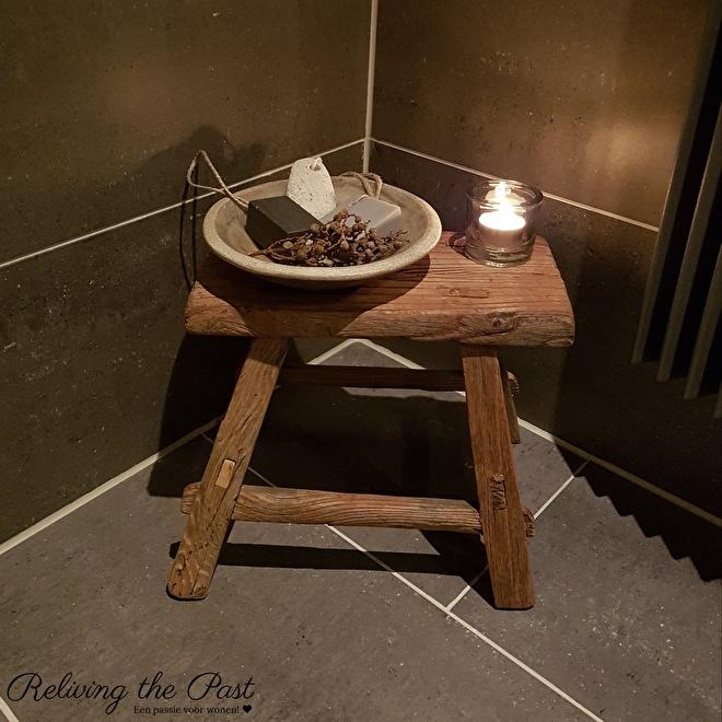 Landelijke woonaccessoires in de badkamer | Reliving the Past