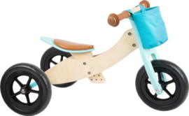 Waaier trike maxi 2 in 1 turquoise