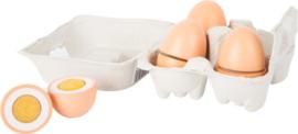 Houten eieren