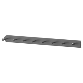 Multihanger grijs 58 cm lang
