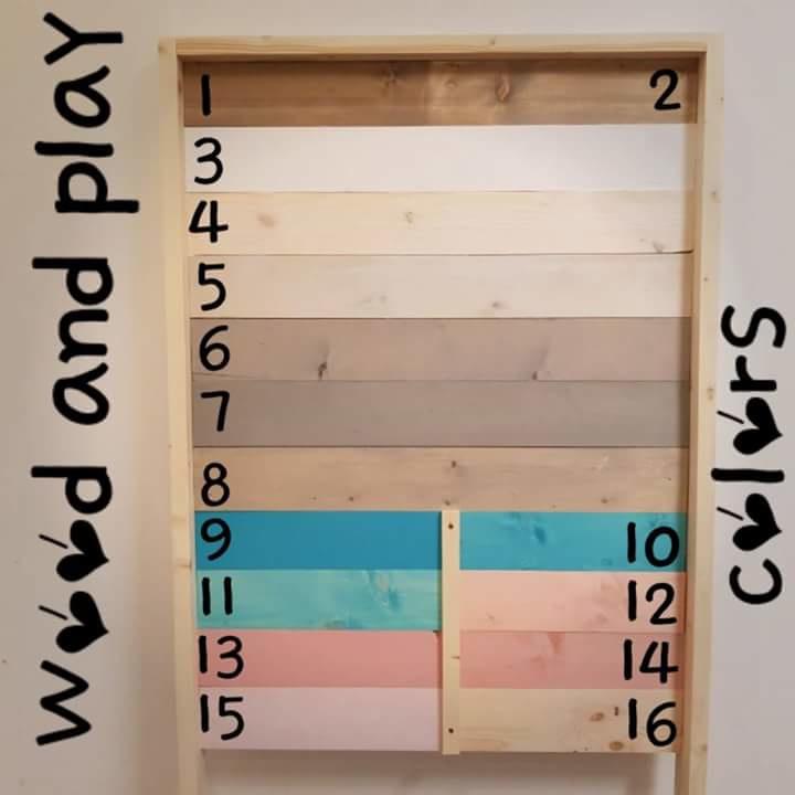 Fonkelnieuw Juniorbed simpel steigerhout | Kinderbedden | Wood and Play EA-86