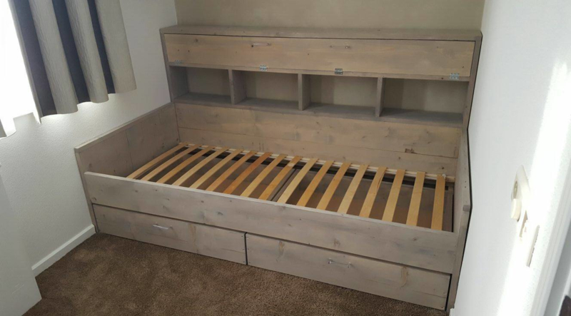 Bed Steigerhout Kinderbedden Wood And Play