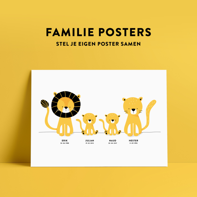 familieposters