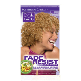 DARK & LOVELY - Fade resist rich conditioning lightener - 384 | Light golden blonde
