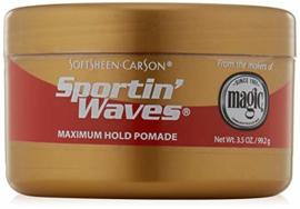 SOFTSHEEN CARSON - Sporting' waves maximum hold
