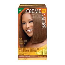 CREME OF NATURE - Moisture-rich hair color - C 20 | Light golden brown