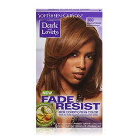 DARK & LOVELY - Fade resist rich conditioning color - 380 | Chestnut blonde