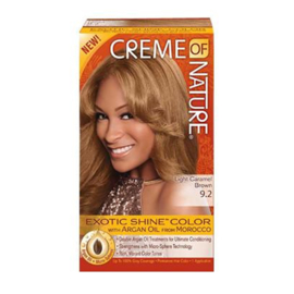 CREME OF NATURE - Exotic shine color - 9.2 | Light caramel brown