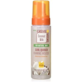 CREME OF NATURE - Coconut Milk Curl Quench Foaming Mousse