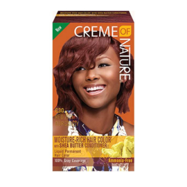 CREME OF NATURE - Moisture-rich hair color - C 30 | Red hot burgundy
