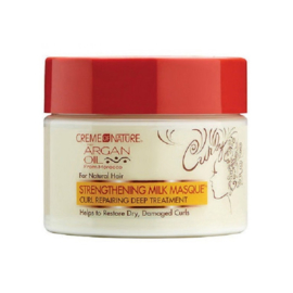 CREME OF NATURE - Strenghtening milk masque