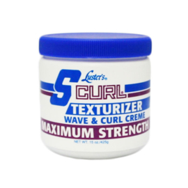 S CURL - Texturizer wave & curl creme - maximum strength