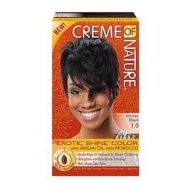 CREME OF NATURE - Exotic shine color - 1.0 | Intense black