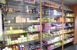 Verzorgingsproducten voor de donkere huid & haar