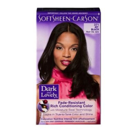 DARK & LOVELY - Fade resistant rich conditioning color - 371 | Jet black