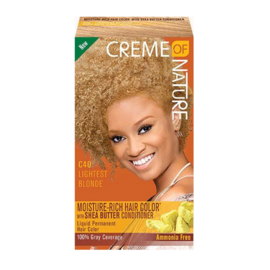 CREME OF NATURE - Moisture-rich hair color - C 40 | Lightest blonde