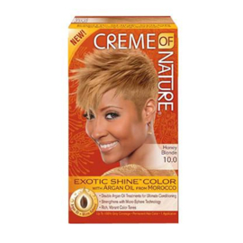 CREME OF NATURE - Exotic shine color - 10.0 | Honey blonde