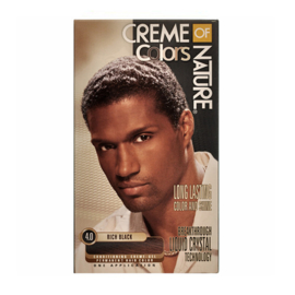 CREME OF NATURE - Long lasting color & shine for men - 4.0 | Rich black