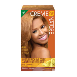 CREME OF NATURE - Moisture-rich hair color - C 41 | Honey blonde