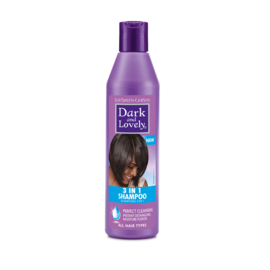DARK & LOVELY - 3-in-1  shampoo (250 ml)