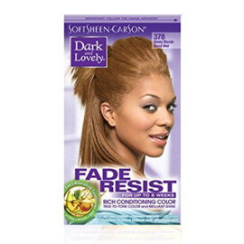 DARK & LOVELY - Fade resist rich conditioning color - 378 | Honey blonde