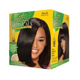 SOFT & BEAUTIFUL - Botanicals - Sensitive scalp relaxer - Coarse