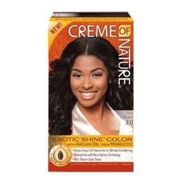 CREME OF NATURE - Exotic shine color - 3.0 | Soft black