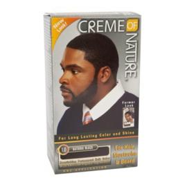 CREME OF NATURE - Long lasting color & shine for men - 1.0 | Natural black