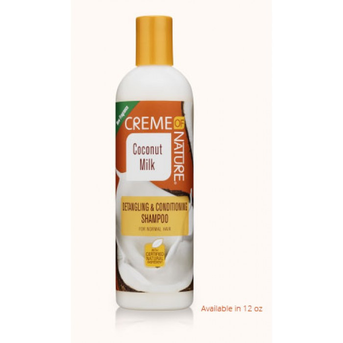 CREME OF NATURE - Coconut milk Detangling &  coditioning shampoo