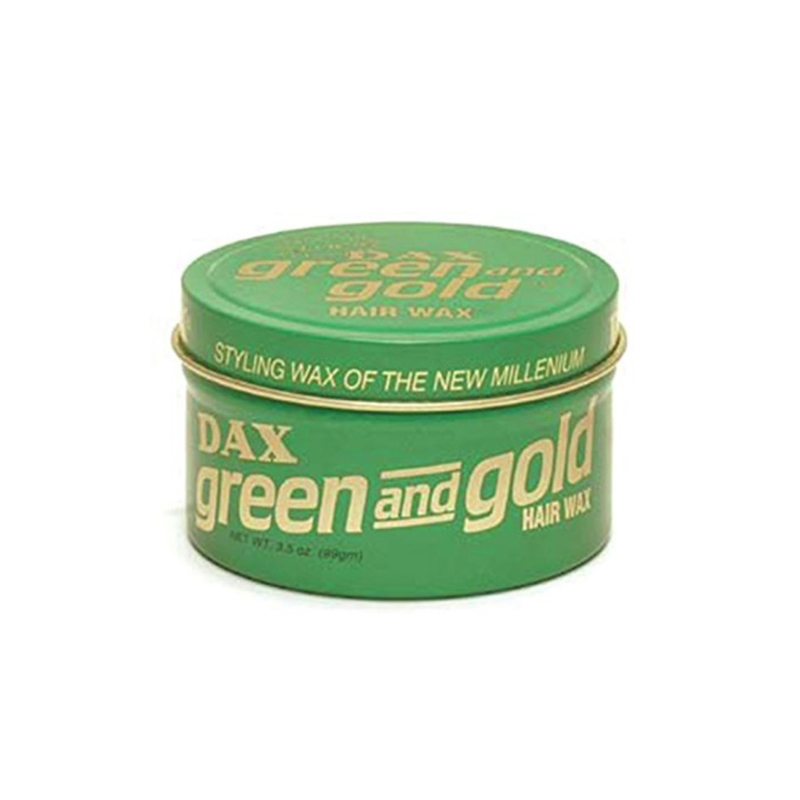 DAX -  Green & gold - hair dress