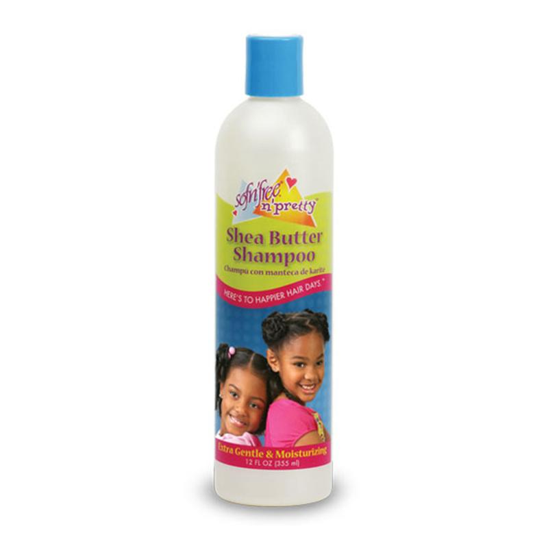 SOFN'FREE N'PRETTY - Shea butter shampoo