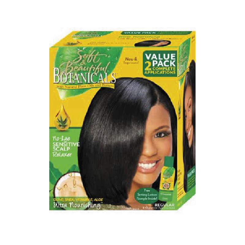 SOFT & BEAUTIFUL - Botanicals - Sensitive scalp relaxer - Regular