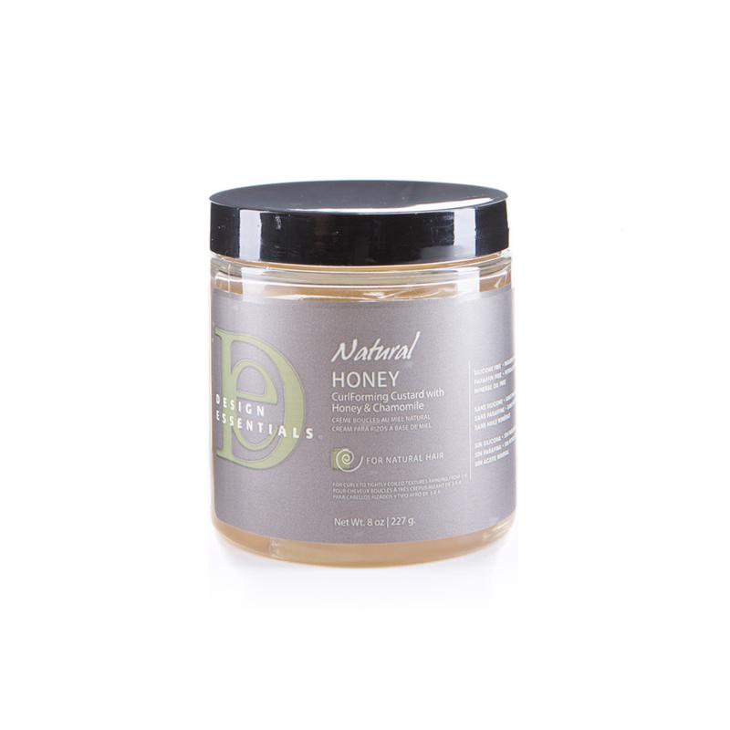 DESIGN ESSENTIALS - Natural - Honey  | CurlForming Custard with honey & chamomile