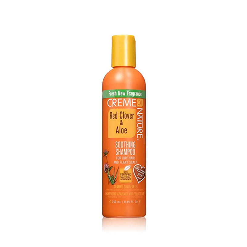 CREME OF NATURE - Red clover & aloe - Soothing shampoo