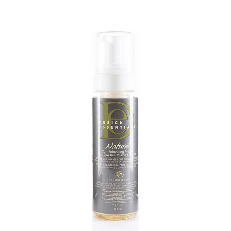 DESIGN ESSENTIALS - Natural - Curl enhancing mousse