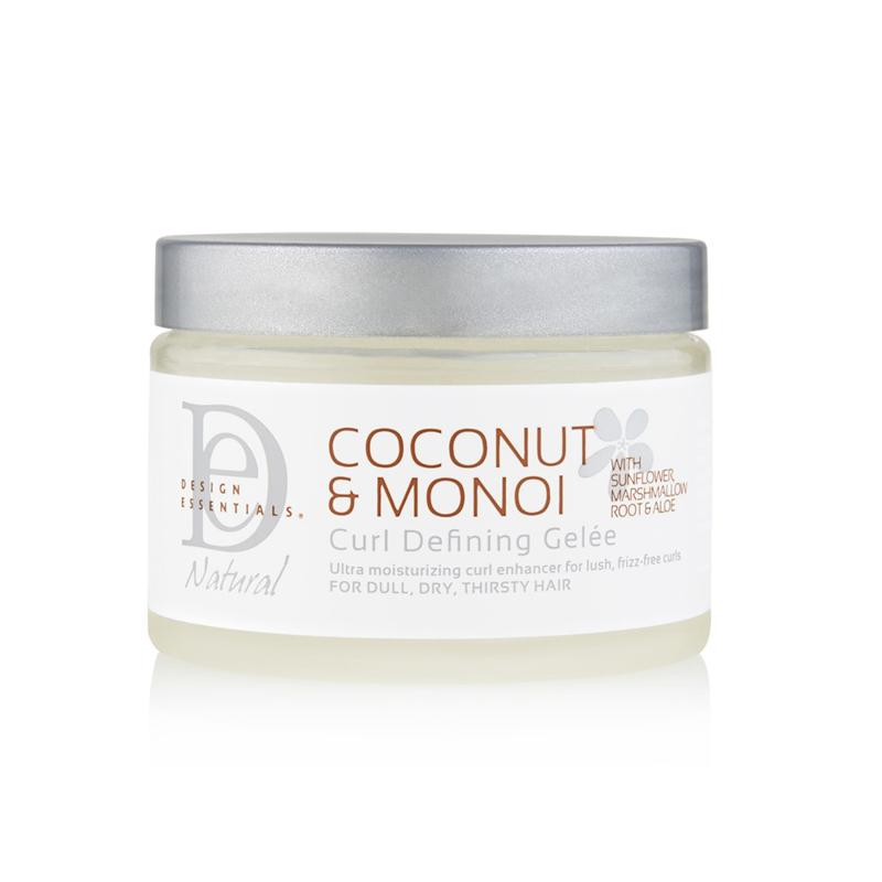 DESIGN ESSENTIALS - Natural - Coconut & Monoi | Curl defining gelée