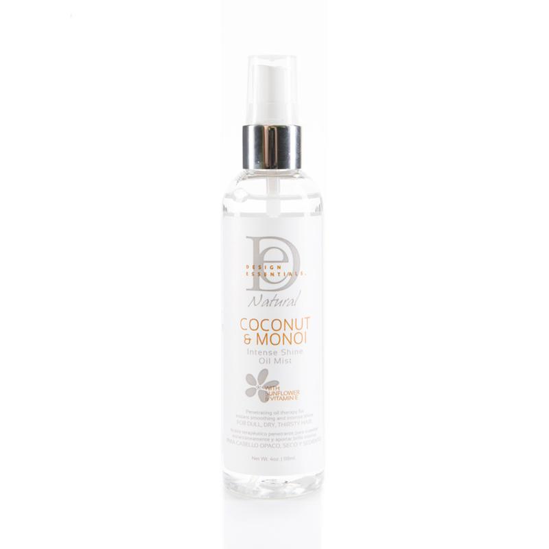 DESIGN ESSENTIALS - Natural - Coconut & Monoi | Intense shine oil mist
