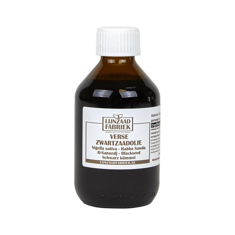 Zwartzaadolie - 200 ml