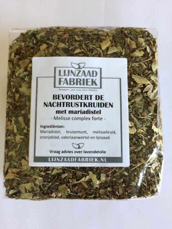 Bevordert de nachtrustkruiden met Mariadistel - 150 gram