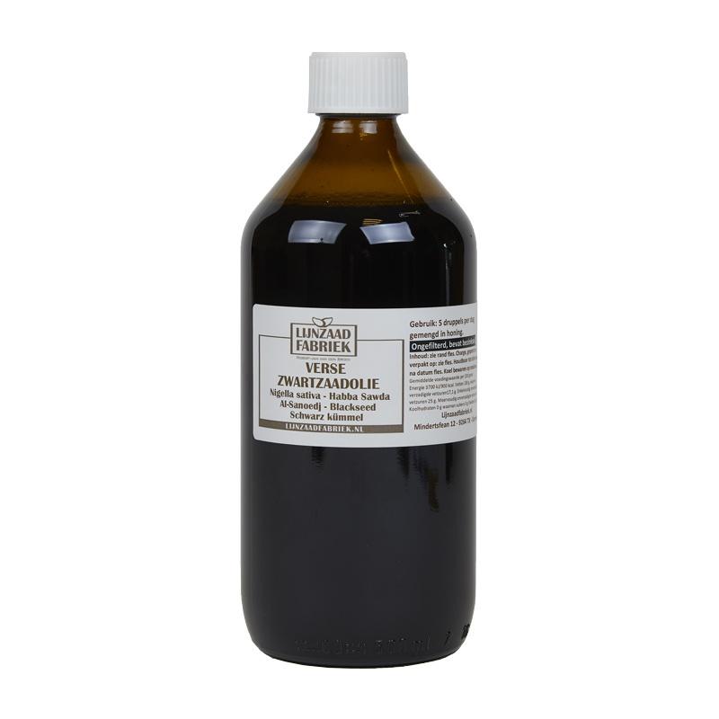 Zwartzaadolie - 500 ml