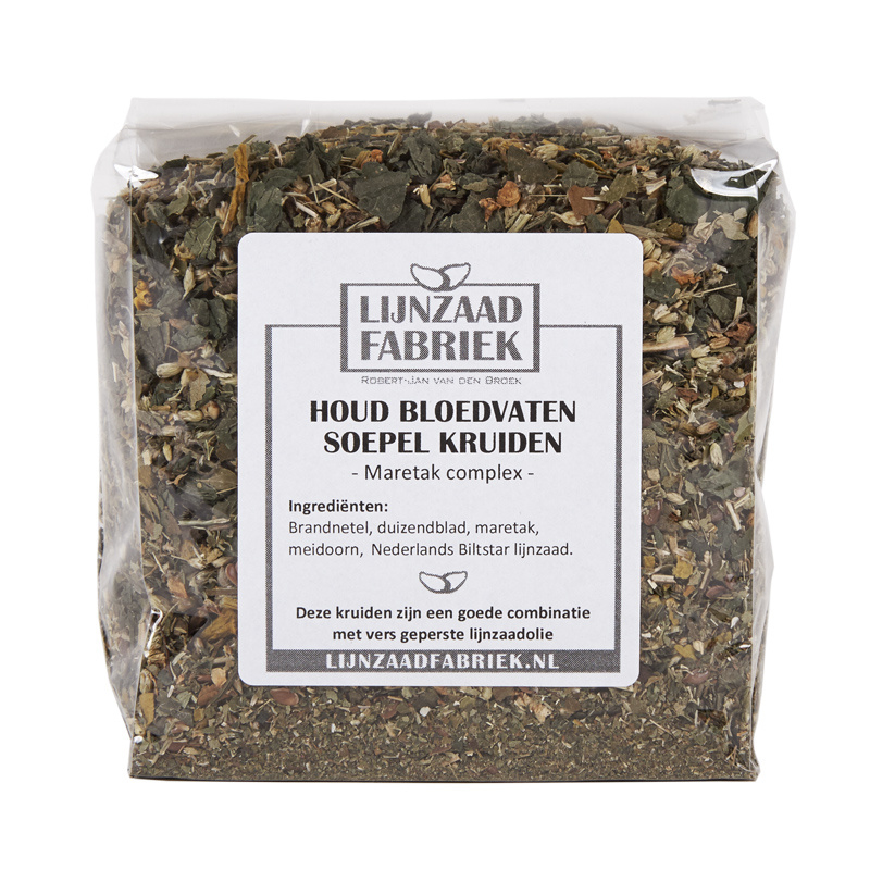 Houdt bloedvaten soepel kruiden - 250 gram
