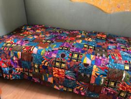 Eenpersoons bedsprei of plaid van Ghanees Patchwork