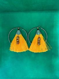 Ibiza style oorbellen