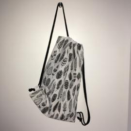 (gym)tas wit&zwart|veren